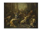 Raising of Lazarus Kunst af Alessandro Magnasco