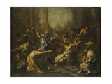 Raising of Lazarus Art by Alessandro Magnasco