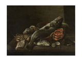 Still Life with Fish Prints by Isaac van Duynen