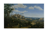 View of Olinda, Brazil Prints by Frans Jansz Post