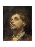Portrait of Jacob Maris Prints by Matthijs Maris