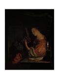 Tuning the Lute Pósters por Frans Van Mieris