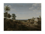 Landscape in Brazil Prints by Frans Jansz Post