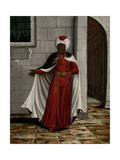 Kislar Aghassi, Chief of the Black Eunuchs of the Sultan Giclée-Premiumdruck von Jean Baptiste Vanmour