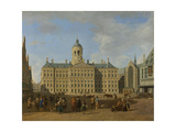 Town Hall on the Dam, Amsterdam Prints by Gerrit Adriaensz Berckheyde