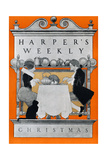 Harper's Weekly, Christmas Plakater af Maxfield Parrish