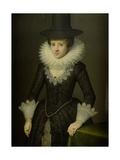 Portrait of Anna Boudaen Courten Posters by Salomon Mesdach