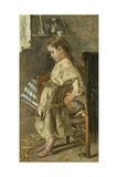 The Poor Child Prints by Antonio Mancini