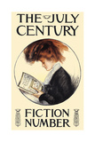 The July Century, Fiction Number Posters by Francis Day