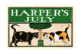 Harper's July Poster by Edward Penfield