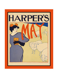 Harper's May Art by Edward Penfield