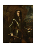 Portrait of William III, Prince of Orange, Stadtholder, after King of England Prints by Willem Wissing