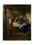 Supper at Emmaus Prints by Jan Havicksz Steen