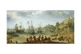 Ships Off a Rocky Coast, Adam Willaerts Prints by Adam Willaerts