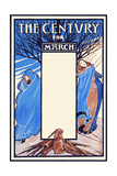 The Century for March Prints by Elisha Brown Bird