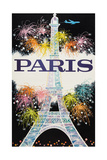 Paris Print by David Klein