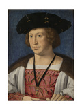 Portrait of Floris Van Egmond, Count of Buren En Leerdam Posters by Jan Gossaert