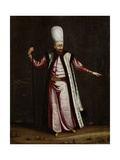 Capoudgi Bachi, Grand-Master of the Seraglio Poster von Jean Baptiste Vanmour