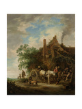 Country Inn with Horse and Wagon Posters by Isaac Van Ostade