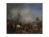 A Camp Prints by Philips Wouwerman