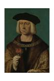 Portrait of Maximilian I Giclée-Premiumdruck von Joos Van Cleve