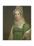 Portrait of Suzanna Maria Crommelin, Wife of Egbert Johannes Koch Poster by Charles Howard Hodges