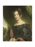 Portrait of Maria Antoinette Charlotte Sanderson, Wife of Johan Fraser Prints by Charles Howard Hodges