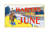 Harper's June Poster by Edward Penfield