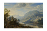 Rhine River Near Reineck Posters by Herman Saftleven
