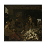 A Painters Studio, Michael Sweerts Prints by Michael Sweerts
