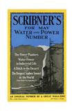 Scribner's for May, Water and Power Number Prints by Adolph Treidler