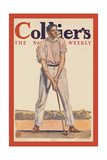 "Collier'S. ""Fore!"" Posters by Edward Penfield"