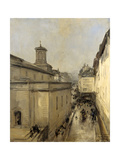 Church of Notre Dame De Lorette and the Rue Flechier, Paris Prints by Antoine Vollon