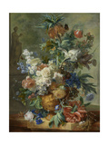 Still Life with Flowers Prints by Jan van Huysum