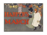 Harper's March Prints by Edward Penfield