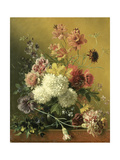 Still Life with Flowers Posters by Georgius Jacobus Johannes van Os