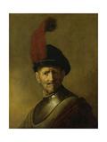 Portrait of a Man Poster by  Rembrandt van Rijn