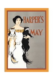 Harper's May Premium Giclee Print by Edward Penfield