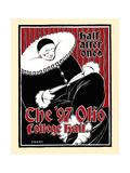 Half after One, the '97 Olio College Hall Print by Elisha Brown Bird