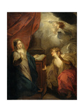 Annunciation to the Virgin Poster by Jacob De Wit