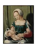 Virgin and Child Prints by Lucas van Leyden