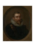 Portrait of Aernout Van Citters, Lord of Gapinge Prints by Philip van Dijk