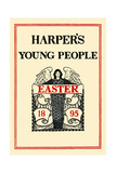 Harper's Young People, Easter 1895 Poster af Maxfield Parrish