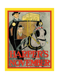 Harper's November Poster by Edward Penfield