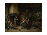 Peasants in an Interior Prints by Adriaen Van Ostade