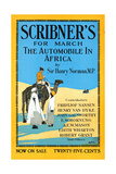 Scribner's for March, the Automobile in Africa by Sir Henry Norman, MP. Prints by Adolph Treidler