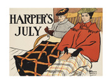Harper's July Prints by Edward Penfield