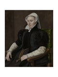 Portraits of Sir Thomas Gresham and Anne Fernely Posters by Anthonis Mor