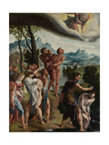 Baptism of Christ Posters by Jan van Scorel