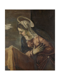 Annunciation to the Virgin Prints by Jacopo Tintoretto
